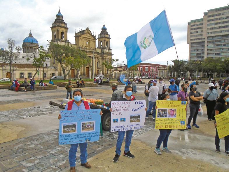 Gegen Korruption zu demonstrieren, ist nicht selbstverständlich in Guatemala. Mutige Richterinnen werden sogar mit dem Tod bedroht.