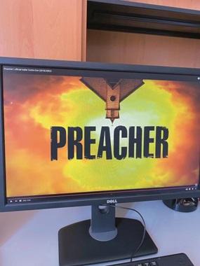 """Kommen Sie mit auf einen Ausflug in die Welt der Serien? Den Anfang machen wir mit """"Preacher"""", einer US-amerikanischen Produktion der Jahre 2016–2019."""