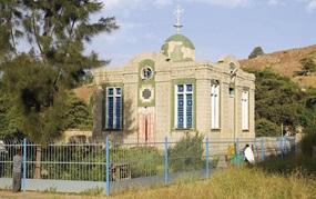 Die Bundesladen-Kapelle in Aksum