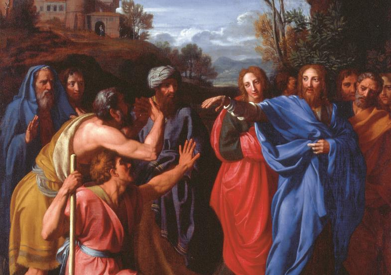 In der Antike waren Menschen mit Behinderung allgegenwärtig. In der Bibel kommen sie fast nur vor, um geheilt zu werden.