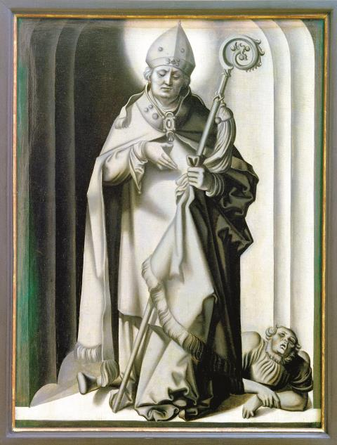 Der heilige Valentin in einer Darstellung von Hans Baldung, genannt Grien (um 1513–15)