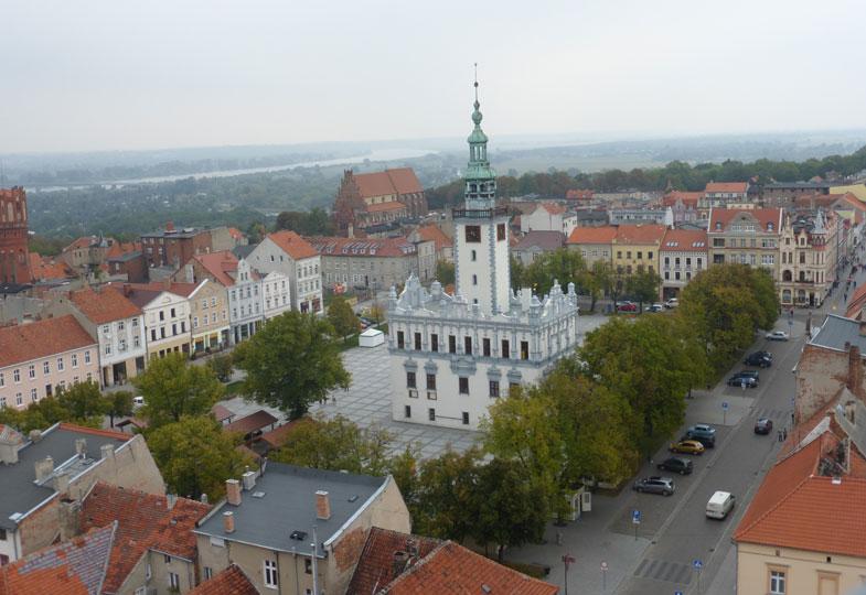 Schmucke Stadt mit Geschichte