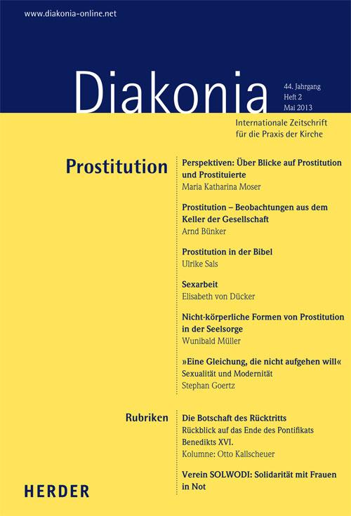 Diakonia. Internationale Zeitschrift für die Praxis der Kirche 44 (2013) Heft 2