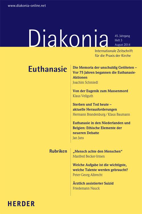 Diakonia. Internationale Zeitschrift für die Praxis der Kirche 45 (2014) Heft 3