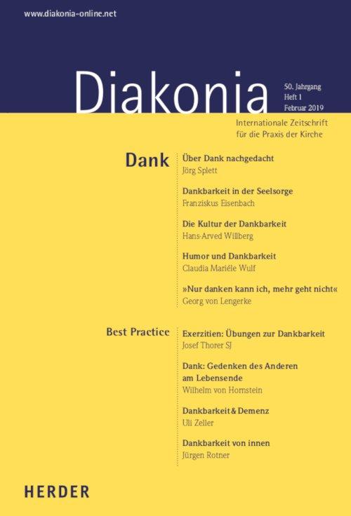 Cover Diakonia 1/2019