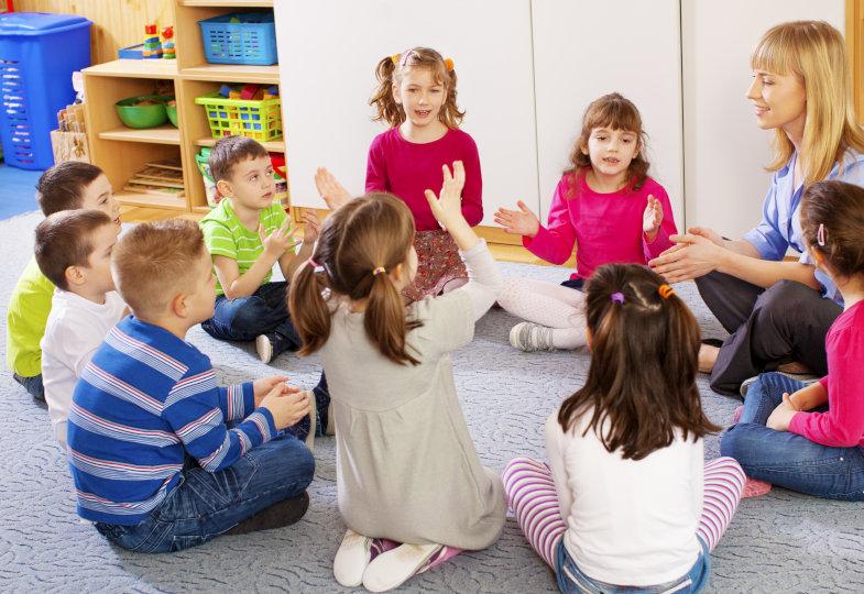 Begrüßungslieder im Kindergarten