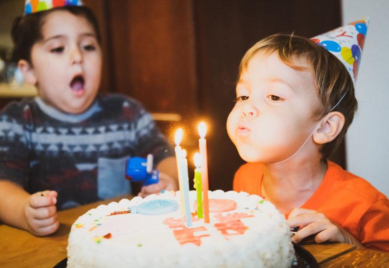 Geburtstagslieder im Kindergarten