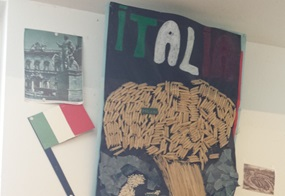 Ein Klassiker: Italien aus verschiedenen Pastasorten und Risotto