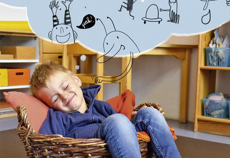 Pausieren, schlummern, dösen - Kinder beim Ruhen und Schlafen begleiten