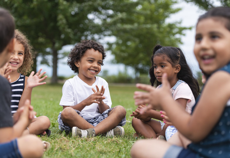 Sommerlieder im Kindergarten