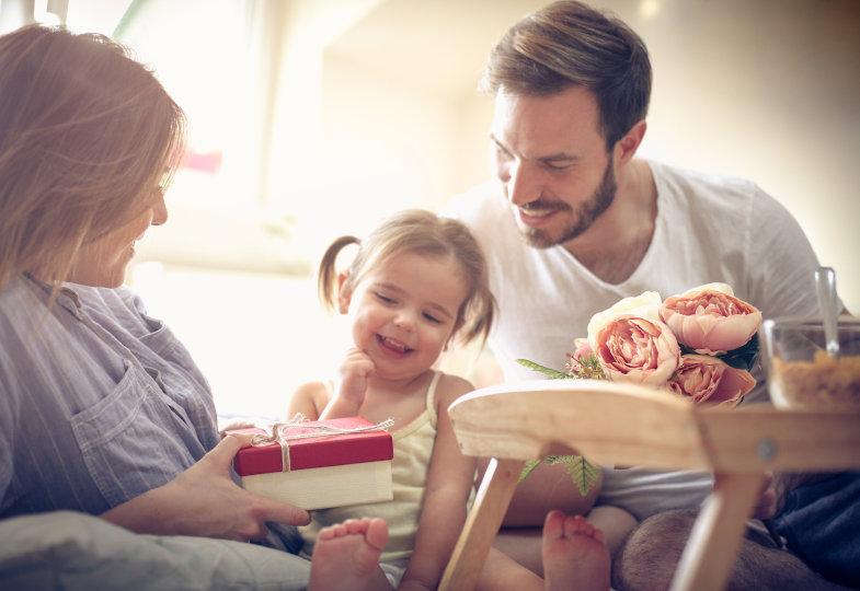 Vater- und Muttertagsgeschenke im Kindergarten