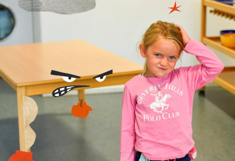 Beim magischen Denken schreiben Kinder unbelebten Dingen menschliche Eigenschaften zu