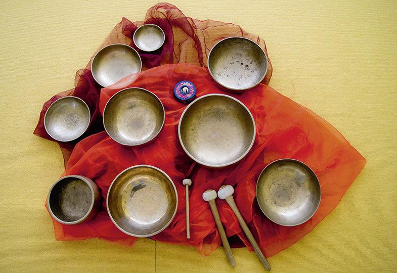 Zum Schwingen bringen - Mit Klangschalen zur Ruhe kommen