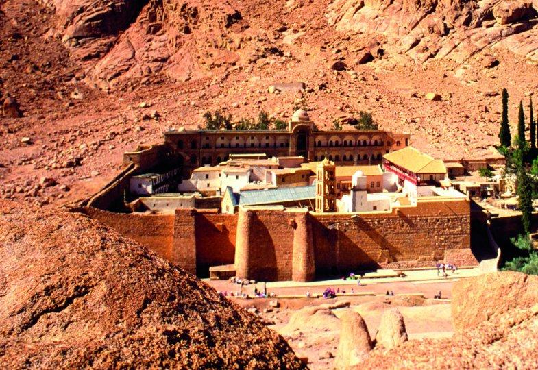 Die Dornbusch-Flamme von Sinai