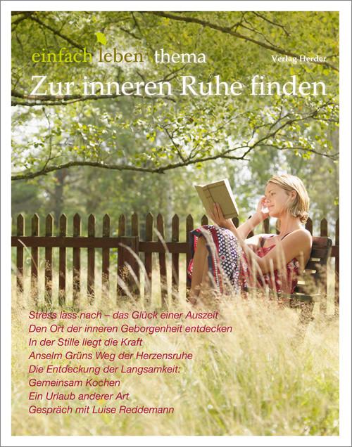 einfach leben Nr. 5 – 2014, thema Zur inneren Ruhe finden