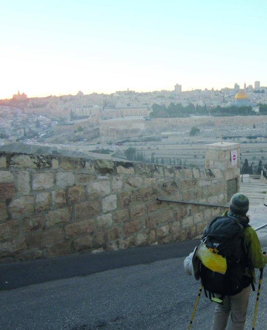Jerusalem liegt in der Ferne