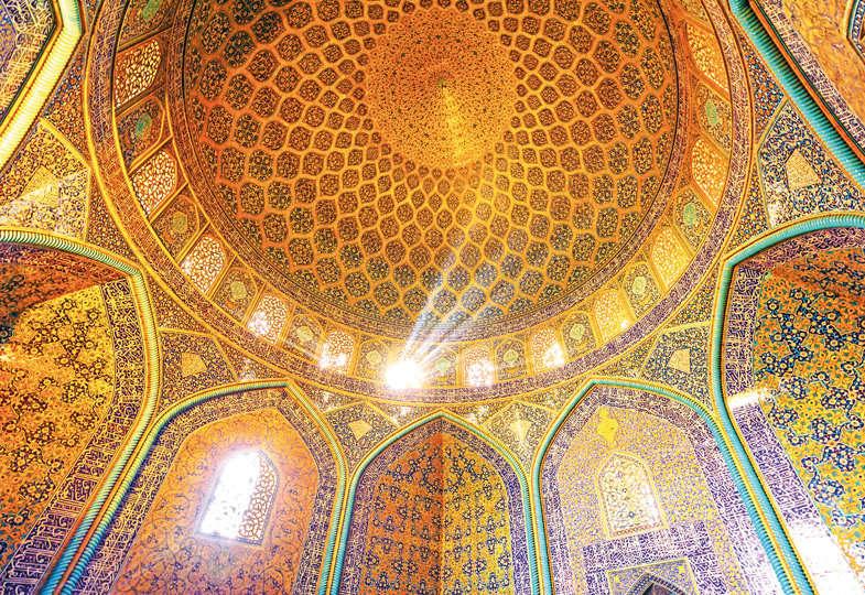 Eine Moschee in Isfahan: Gottes Schönheit - zentrale spirituelle Erfahrung im Islam