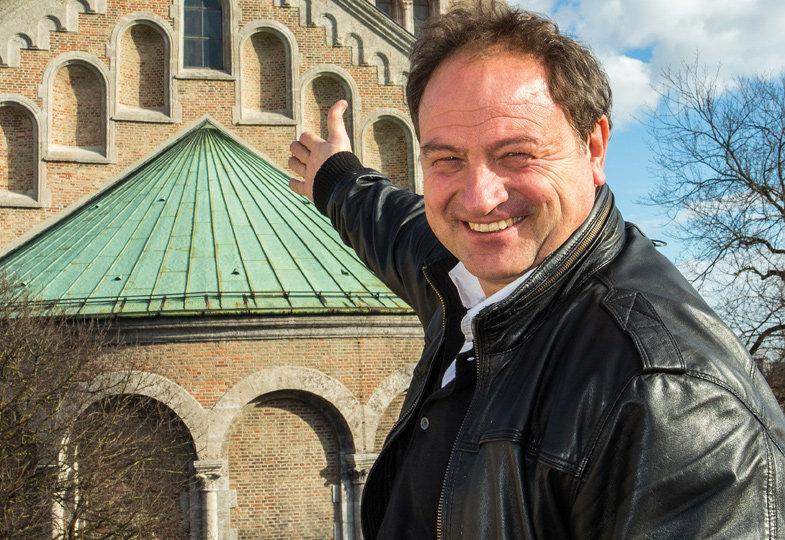 Begegnung mit Rainer Maria Schießler: Voller Hoffnung für die Zukunft