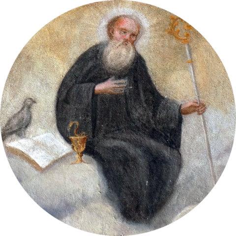 Benedikt von Nursia (Erzabtei St. Peter, Salzburg)
