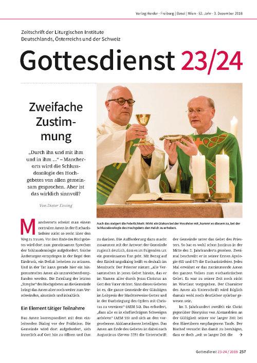 Gd 23-24/2018: Praxisteil