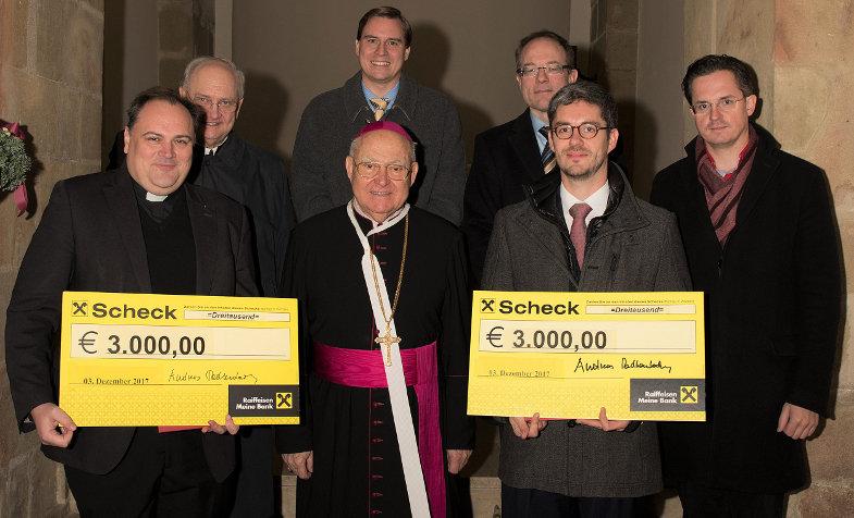 Preisträger und Gäste bei der Verleihung des Pius-Parsch-Preises 2017.