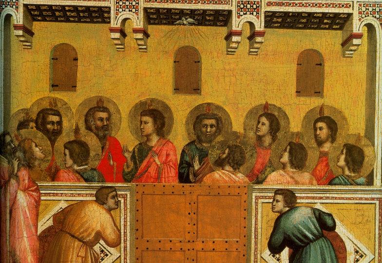 Giottos Darstellung des Pfingstereignisses