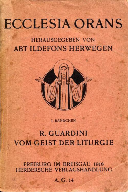Cover Vom Geist der Liturgie