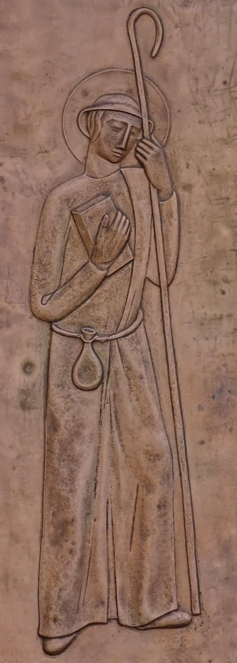 Jakobus der Ältere (Bronzerelief)