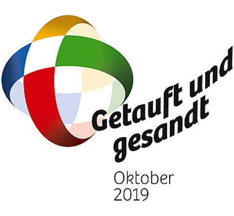 Logo des Weltmissionsmoonats 2019