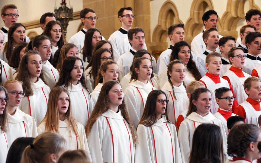Singende Kinder- und Jugendchöre