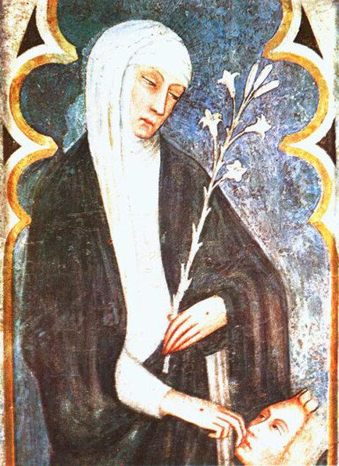 Darstellung der heiligen Katharina von Siena
