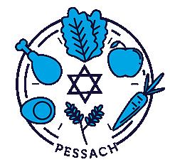 Das Icon zu Pessach aus dem Feiertagskalender