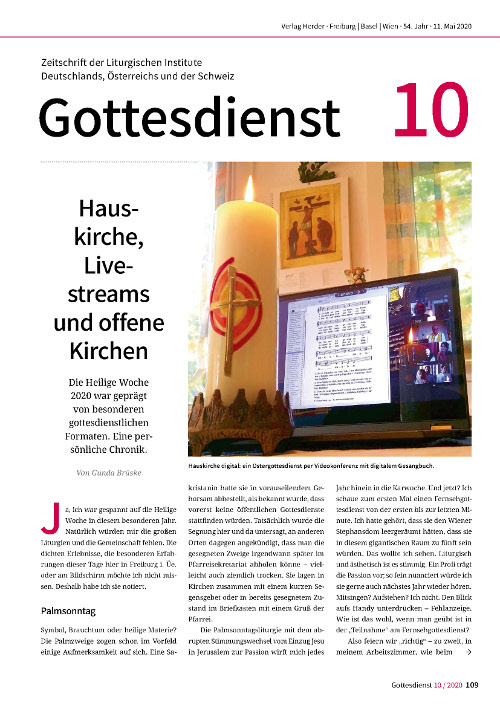 Gottesdienst 10/2020