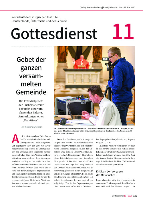 Gottesdienst 11/2020