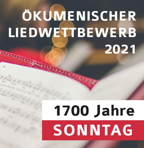 Logo Ökumenischer Lidwettbewerb Sonntag 2021