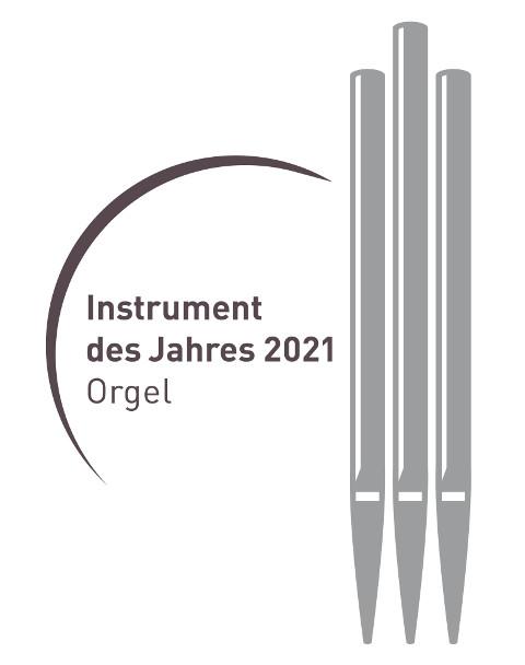 Logo Instrument des Jahres 2021