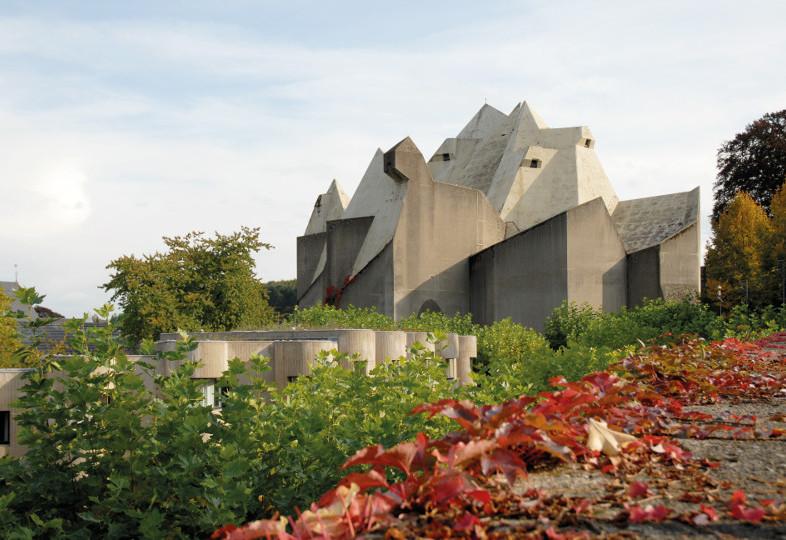 Ansicht der Wallfahrtskirche in Neviges