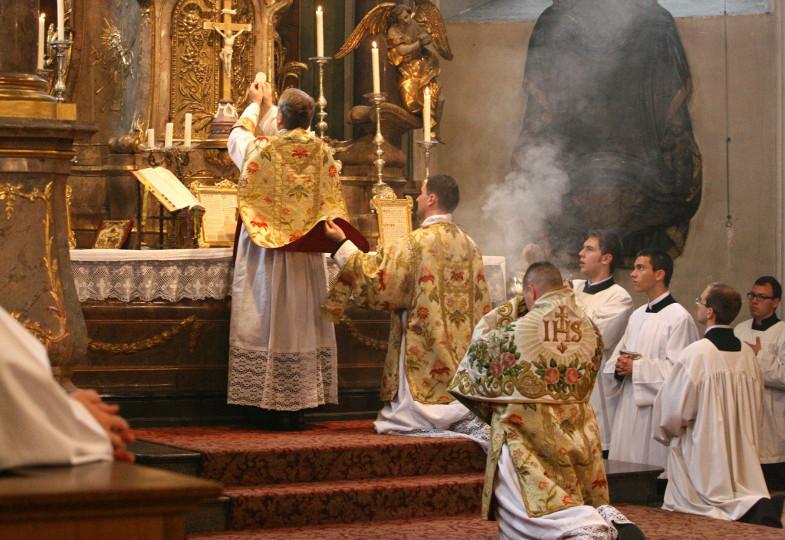 Bei einer Messe nach dem Ritus nach dem Konzil von Trient
