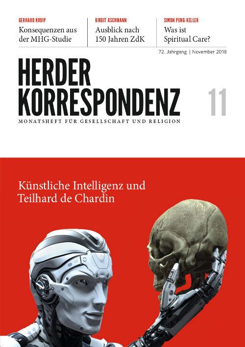 Herder Korrespondenz. Monatsheft für Gesellschaft und Religion 72 (2018) Heft 11