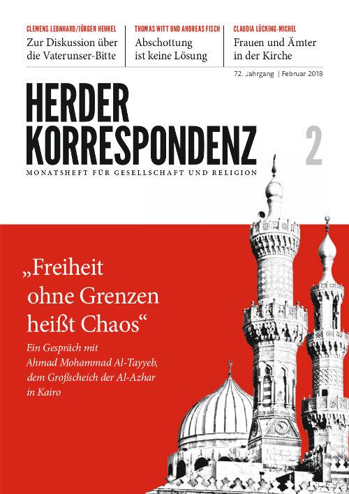Herder Korrespondenz. Monatsheft für Gesellschaft und Religion 72 (2018) Heft 2