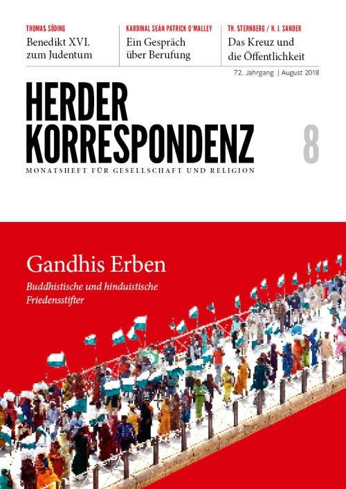 Herder Korrespondenz. Monatsheft für Gesellschaft und Religion 72 (2018) Heft 8