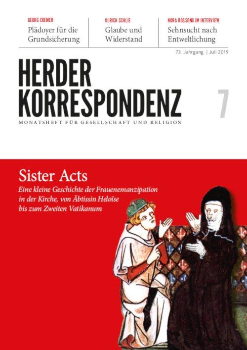 Cover Juli-Ausgabe