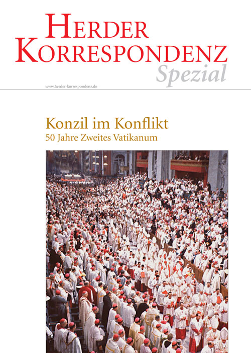 Herder Korrespondenz Spezial: Konzil im Konflikt. 50 Jahre Zweites Vatikanum