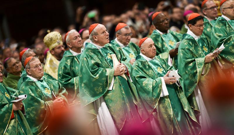 Eröffnungsgottesdienst zur Familiensynode im Petersdom