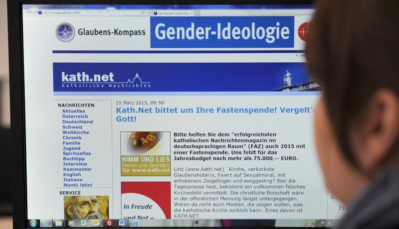 Online-Plattform kath.net in der Kritik