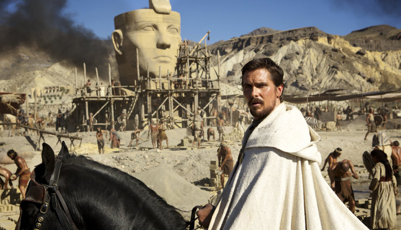 Christian Bale als Moses
