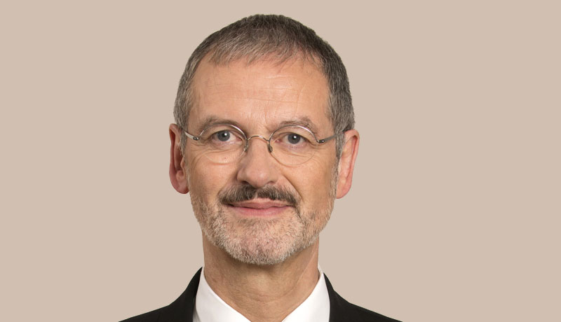 Peter Neher, Präsident des Deutschen Caritasverbandes