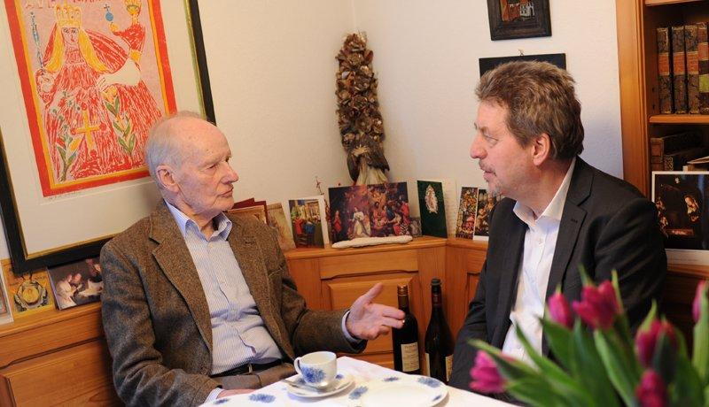 Robert Spaemann und Hans Joas im Gespräch