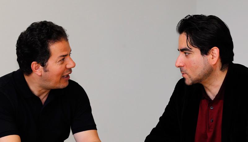 Hamed Abdel-Samad und Mouhanad Khorchide im Gespräch