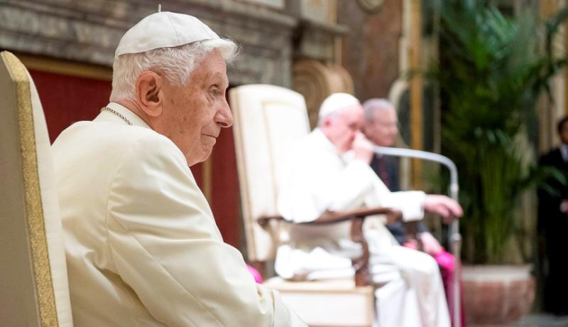 Benedikt XVI. im Frühjahr 2016